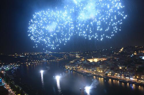 Passagem de ano no Douro